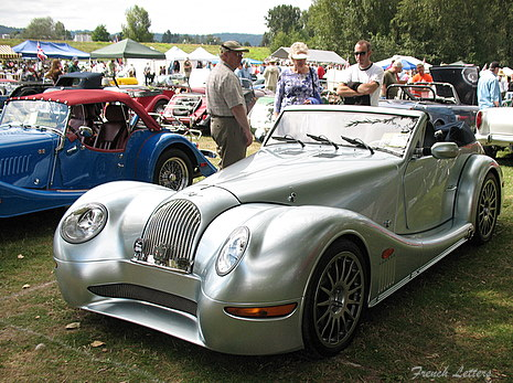 Vintage British Cars FRENCH LETTERS - Sports cars 8 letters